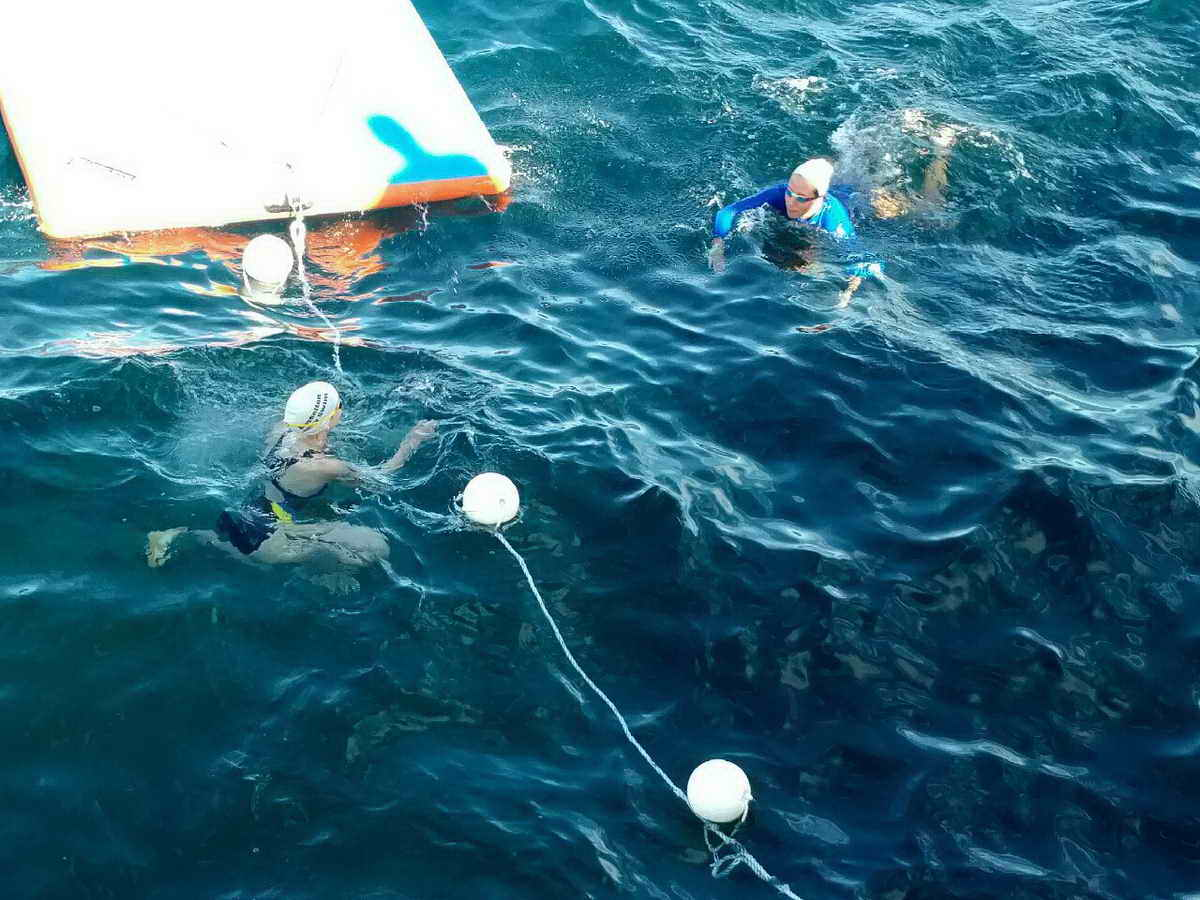 Rhr Silverfish Busselton Jetty Swim 2016